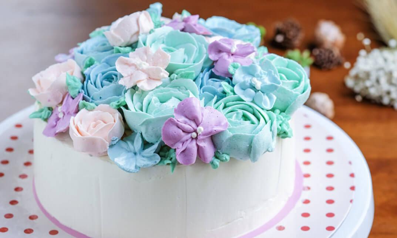 Fantastic Floral Buttercream Cakes